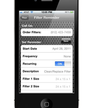 Iphone App Ray S Heating Amp Air